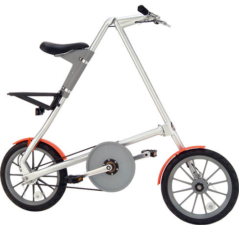 strida folding bicycle